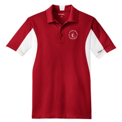 Men's Sport-Tek Side Blocked Micropique Sport-Wick Polo